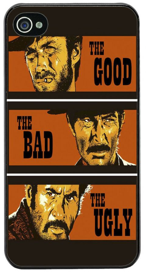 The Good, The Bad and The Ugly Movie Film Poster Cover/Case For iPhone 4/4S Gift